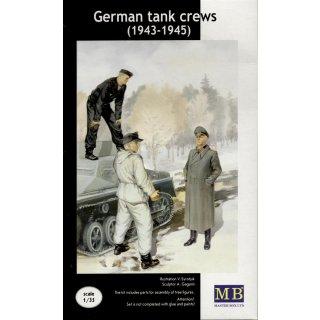 1:35 Deutsche Panzerbesatzung Set II