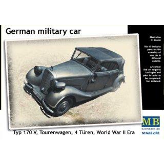 1:35 German military car, Type 170 V, Tourenwagen, 4 Turen, 1937-
