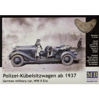 1:35 German Staff Car, Type 170 V, Kübelwagen, Frühere Ausführung