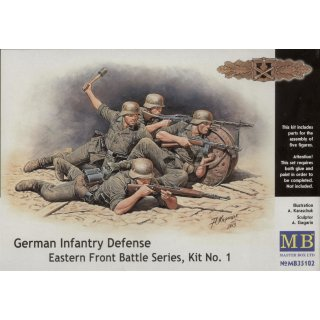 1:35 German infantry defense, Eastern Front