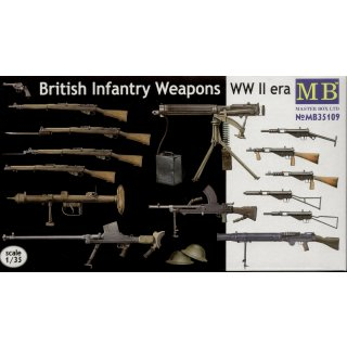 1:35 British infantry weapons, WWII era