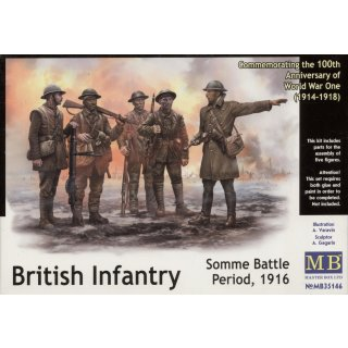 1:35 British infantry, Somme battle, 1916