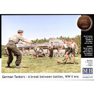 1:35 German tankmen in the break bet. Combats