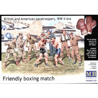 1:35 Friendly boxing match.Brit.+Amer.paratro