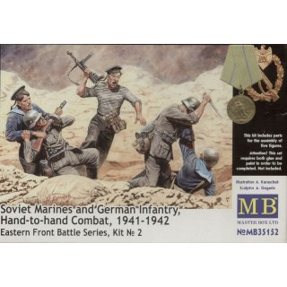 1:35 Soviet marines and German infantry,Handt