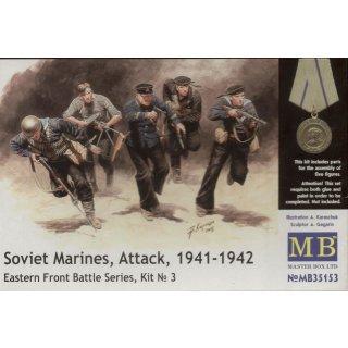 1:35 Soviet marinas Attack 1941-42 Easter Fro