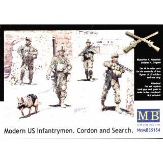 1:35 Modern U.S.infantrymen. Cordon and Searc