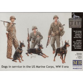 Dogs in the service in Marine Corps, WW II