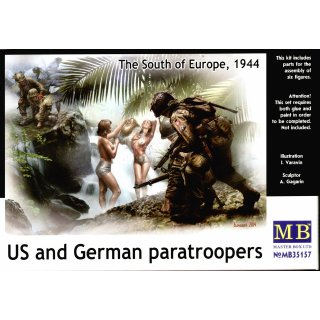 1:35 U.S. and German paratroopers,South of Eu