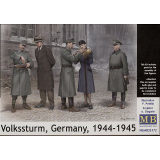 1:35 Volkssturm Germany, 1944-1945