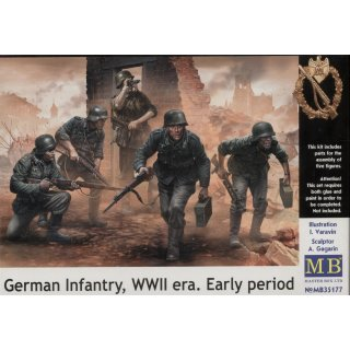 1:35 German infantry,WWII era. Early period
