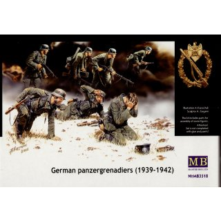 1:35 Deutsche Panzergrenadiere 1939-1942