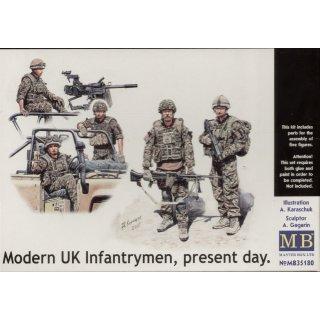 1:35 Modern UK infantrymen, present day