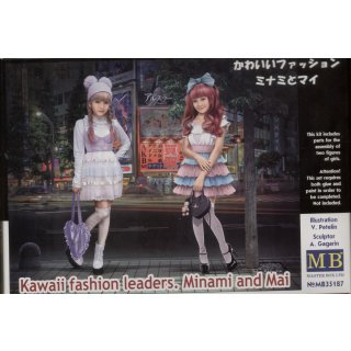 1:35 Kawaii fashion leaders.Minami and Mai