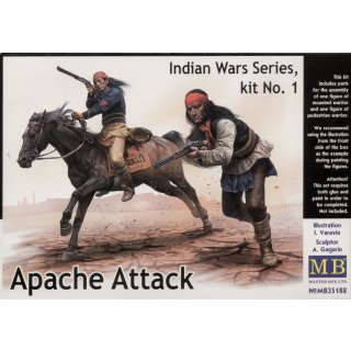 1:35 Apache Attack,Indian Wars Series,kit No1