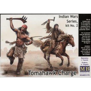 1:35 Tomahawk Charge.Indian Wars Series, kit No.2
