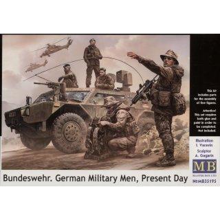 1:35 Bundeswehr,German military men, Present day