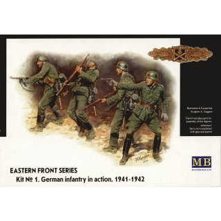 1:35 German Infantry in action 1941-1942 Eastern Front Series Kit No. 1