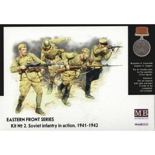 1:35 Soviet Infantry in action 1941-1942 Eastern Front Series