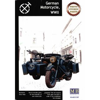 1:35 German Motorcycle with PE