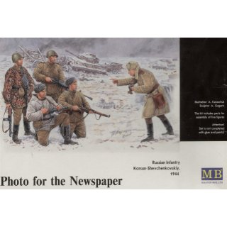 1:35 Russische Infanterie Korsun 1944 Photo for the Newspaper