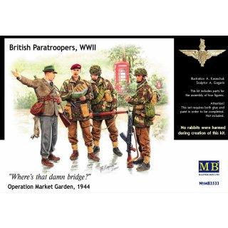 1:35 British Paratroopers WWII Operation Market Garden 1944