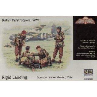 1:35 British Paratroopers WWII Rigid Landing Operation Market Garden 1944