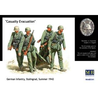 1:35 German Infantry Stalingrad Summer 1942 Casualty Evacuation