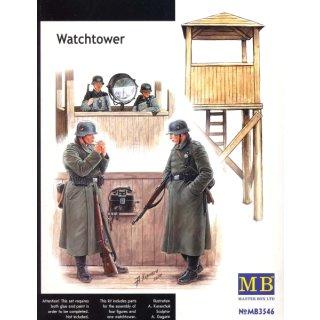 1:35 Watch Tower w/4 figs