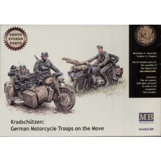 1:35 Kradschutzen: Ger. motorcycle troops