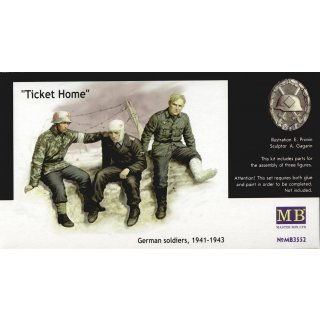 Ticket Home wounded soldiers