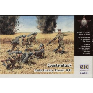 1:35 Counterattack, Soviet infantry, 1941