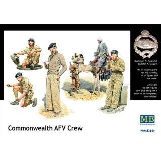 1:35 British armored troops Africa