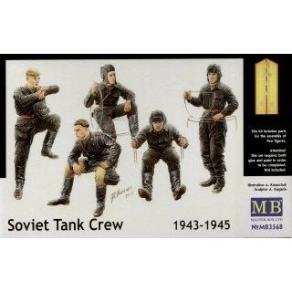 1:35 Soviet tank crew, 1943-1945