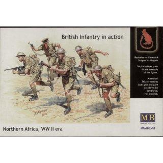 1:35 British Infantry North Africa Desert
