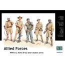 1:35 Allied Forces, WW II era, North Africa, desert battles serie