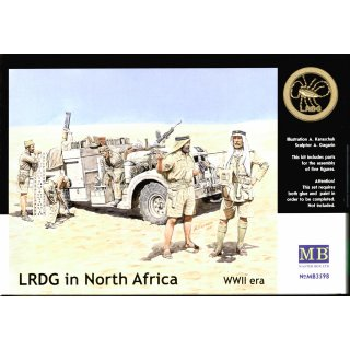 1:35 LRDG in Northern Africa
