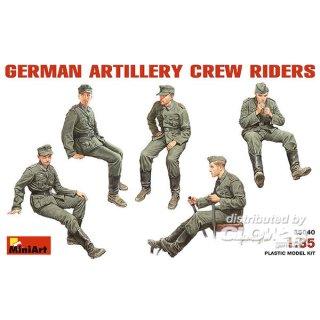 1:35 Deutsche Artillerie Crew (Mitfahrer)