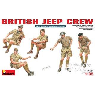 1:35 Britische Jeep Crew