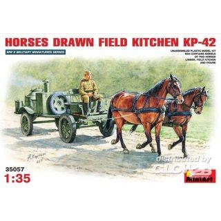 1:35 Feldküche als Pferdefuhrwerk