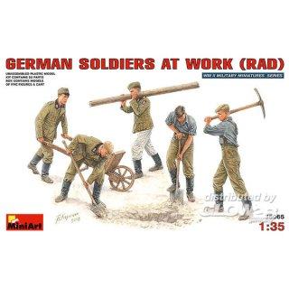 1:35 Deutsche Soldaten bei der Arbeit (Rad)