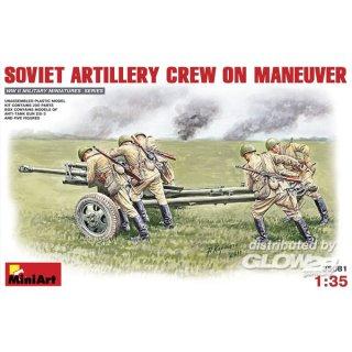 1:35 Sowjetische Artillerie-Besatzung