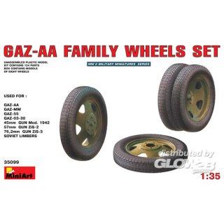 1:35 GAZ-AA Family Wheels set