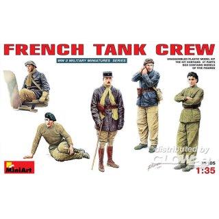 1:35 Französische Panzer-Crew