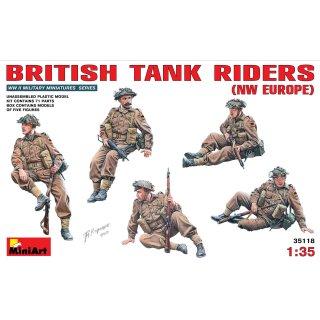 1:35 Britische Panzerbesatzung (NW Europa)