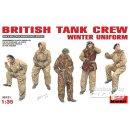1:35 Britische Panzer Crew in Winteruniform