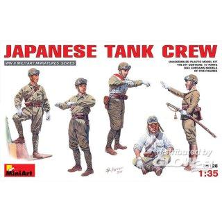 1:35 Japanische Tank Crew