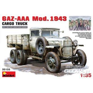 1:35 GAZ-AAA. Mod. 1943. Cargo Truck