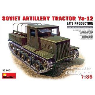 1:35 Ya-12 Late Prod. Soviet Artil. Tractor