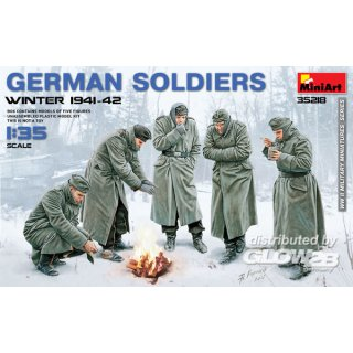 1:35 German Soldiers (Winter 1941-42)